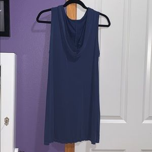 She and Sky Tops - She and Sky tank top with Hoodie NWT